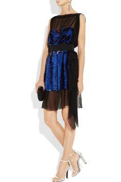 Vionnet  Sequined silk-chiffon dress  $4340