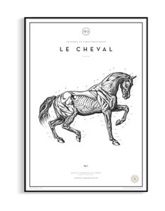 Shop Le Cheval from Atelier Graphique in Decor, Wall decor, available on Tictail from kr Pointillism, Stippling, Tag Art, Impressionist, Closer, Photo Art, Digital Prints, Moose Art, How To Draw Hands