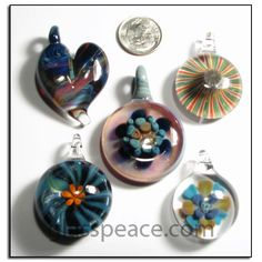 Glass pendants wholesale jewelry supplies by glass peace 3000 glass pendants lampwork focal beads wholesale lot jewelry supplies by glass peace 5781 aloadofball Images