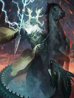 Odin - LotC by Damascus5.deviant... on @deviantART
