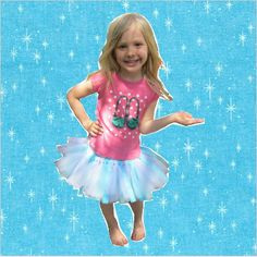 Frozen Inspired Scrappy Girl Skirt Tutu Skirt by CarriesSewingRoom