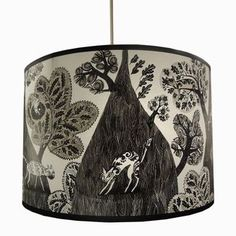 illustrated lamp shades - Google Search