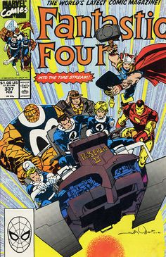 Fantastic four by Walt Simonson