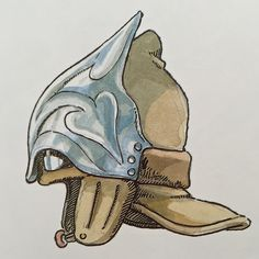 Illustrations done for the Nausicaa manga ===== Manga began running in monthly 'Animage' in Feb. 1982, collected in order of appearance ===== Notes: Nausicaa's flying hat with goggles. Appeared on the back cover to all 7 volumes of 'Animage' Comics Wide Ban 'Nausicaa of the Valley of the Wind'.