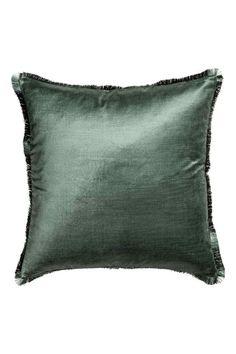 Poszewka na poduszkę - Leśna zieleń - HOME | H&M PL 1