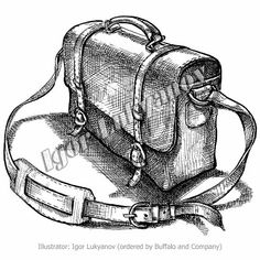 bag drawing (crosshatching)