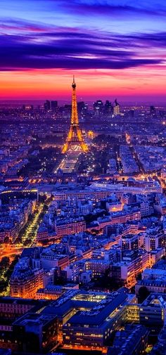 Paris.....  Absolutely stunning!