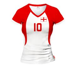 ACTIVE Switzerland Women's T-Shirt With Your Name and Number - Show All Products