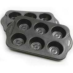 Multi Colour Suitable For Men Women And Children Patisse Silver-top Mini Quiche Pan With Removable Bottom 13 X 8 Cm