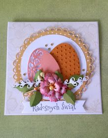 Scrapbooking - inspiracje i galeria: Kartka Wielkanocna... Easter Greeting Cards, Greeting Cards Handmade, Card Making Inspiration, Making Ideas, Holiday Cards, Christmas Cards, Quilling Cards, Easter Crafts, Homemade Cards
