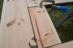add skirting to ice box frames on patio table 7, Kruse's Workshop on Remodelaholic