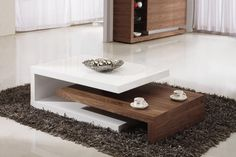 15 Modern Center Tables Made from Wood | Pinterest | Center table ...