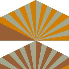 Sunrise fabric by Lucienne Day. Designed for Heal's in 1969 - Britain Can Make It