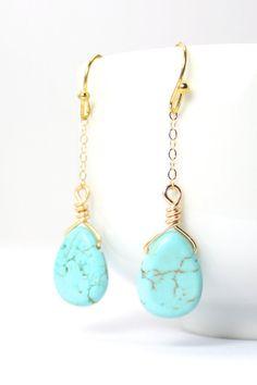 Turquoise Bridesmaid Jewelry