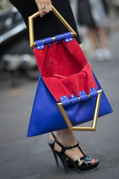 We totally can't take our eyes off this geometric Céline design.