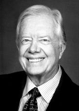 """The Nobel Peace Prize 2002 was awarded to Jimmy Carter """"for his decades of untiring effort to find peaceful solutions to international conflicts, to advance democracy and human rights, and to promote economic and social development""""."""