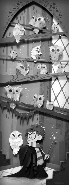 I love owls and i love harry potter. Together they make the perfect two