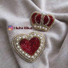 53 отметок «Нравится», 5 комментариев — БрошьНовосибирскБроши (@kisolika) в Instagram: «Сердцу не прикажешь ♥️:5х5,5см 1000 рублей : 3,5х4,5см 700 рублей Цена комплекта 1️⃣5️⃣0️⃣0️⃣…» Брошь сердце Брошь корона