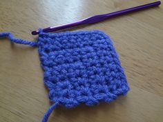 How to Crochet Mitered Squares (photo tutorial)