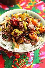 recette poulet sec Sichuan