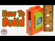 How to Build The World's Smallest LEGO Candy Machine - YouTube