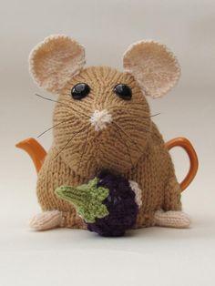 (6) Name: 'Knitting : Small Sized Dormouse Tea Cosy