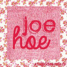 Studio Deksels • Joe Hoe