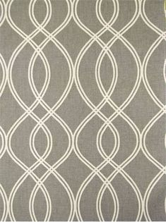 """Helix Ogee Greystone Crypton Fabric.  Crypton Fabric for durable upholstery, window treatments, dog beds, top of the bed or any home décor fabric project. Resists stains and odors. Easy to clean. Long lasting durability. Geometric print. 100,000 double rubs. 100% cotton. Repeat; V 9"""" - H 4.5"""". 54"""" wide."""