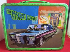 """1967 """"The Green Hornet"""" Lunch Box & Thermos by KST"""