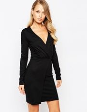 French Connection Valentine Wrap Dress