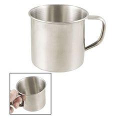 Stainless Steel Coffee Tea Mug Cup-Camping/Travel-3.5