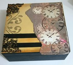 Caixa porta relógio