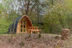Bijzonder overnachten in Drenthe | Camping Diever Outdoor Chairs, Outdoor Furniture, Outdoor Decor, Ark, Camping, Home Decor, Campsite, Decoration Home, Room Decor