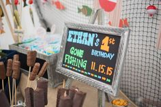 Gone Fishing Birthday Party Ideas | Photo 1 of 103 | Catch My Party