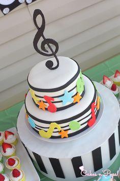 Music Theme - Birthday cake