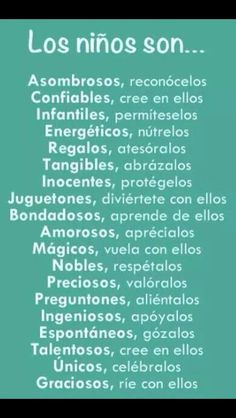 Niños Childhood Education, Kids Education, Laura Lee, Kids And Parenting, Parenting Hacks, Montessori, Spanish Inspirational Quotes, Mommy Quotes, Classroom Language