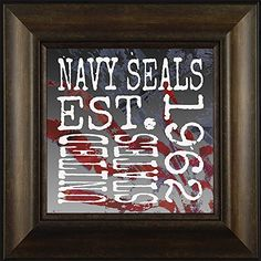 Established Navy Seals By Todd Thunstedt 20x20 Patriotic Soldier Military Constitution George Washington Lincoln Reagan Eagle West Point F22 Raptor Pilot Framed Art Print Wall Décor Picture ThunderMark Art and Graphics http://www.amazon.com/dp/B014E64ZPG/ref=cm_sw_r_pi_dp_KU54vb1HSQQCN