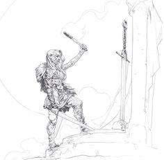 ArtStation - Daily Sketches Week 44, Even Amundsen
