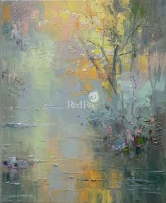 Chee Dale of Rex Preston - Art Painting Abstract Landscape Painting, Abstract Nature, Watercolor Landscape, Landscape Art, Landscape Paintings, Abstract Art, Et Tattoo, Contemporary Landscape, Tree Art