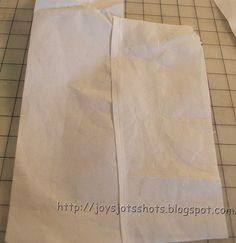 Reusing Embroidery Tearaway Stabilizer