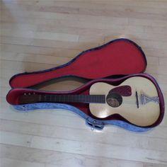 Antique Trail Blazer Tone Tested 6 Metal String Guitar w/ Hard Guitar Case #TrailBlazerToneTested