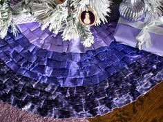 manualidades navidad originales mante purpura ideas