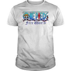 FREE WORLD ONE PIECE TSHIRT
