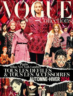 Vogue Paris Collections Automne-Hiver 2014 - Journal - I Want To Be An Alt Fashion Cover, Fashion Art, Editorial Fashion, Love Fashion, Fashion Design, Vogue Magazine Covers, Vogue Covers, Vogue Paris, 2014 Fashion Trends