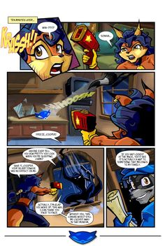 Sly cooper comic