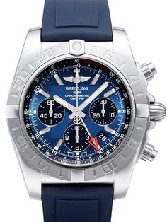 Breitling Chronomat 44 GMT Blackeye-Blau Ref.