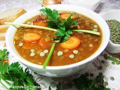 zupa,soczewica,zdrowe,