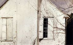 Andrew Wyeth - Open Shutter (1974)