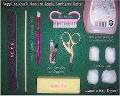 Jamberry nail Application Tips