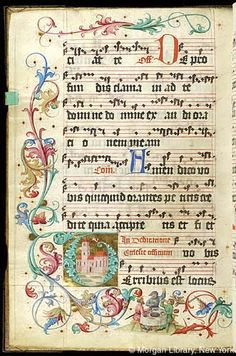 Gradual, MS M.905 I, fol. 243v - Images from Medieval and Renaissance Manuscripts - The Morgan Library & Museum